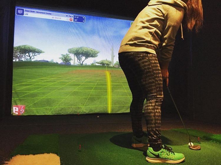 Indoor Golf - Lost Nation Sports Park